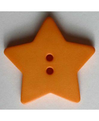 Quilting & Patchwork button - Size: 28mm - Color: orange - Art.No. 289050