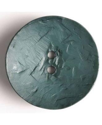 Fashion Button - Size: 60mm - Color: green - Art.No. 410038