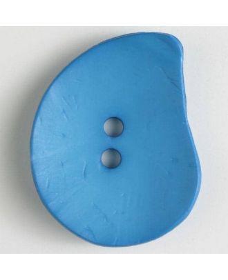 fashion button - Size: 50mm - Color: blue - Art.-Nr.: 390262