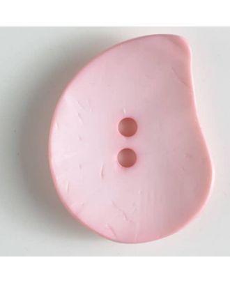 fashion button - Size: 50mm - Color: pink - Art.-Nr.: 390230