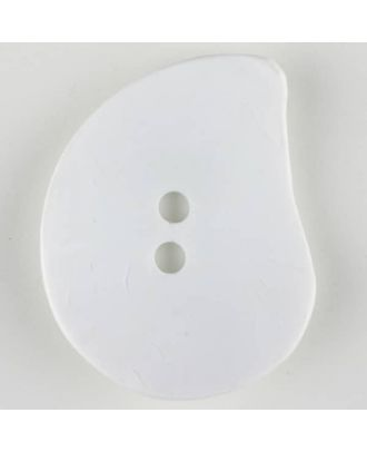 polyamide button - Size: 50mm - Color: white - Art.-Nr.: 390209