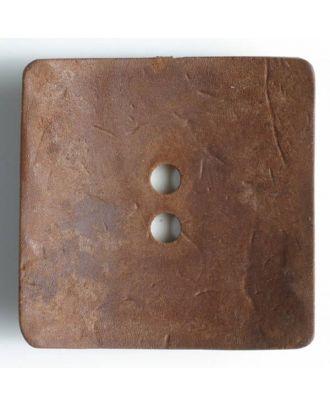 Fashion Button - Size: 60mm - Color: brown - Art.No. 470015