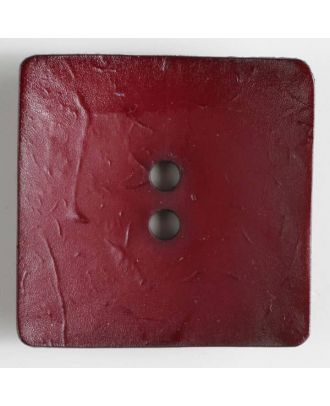fashion button - Size: 60mm - Color: wine red - Art.-Nr.: 410150