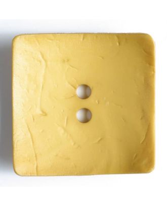 Fashion Button - Size: 60mm - Color: yellow - Art.No. 410056