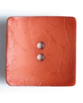 Fashion Button - Size: 60mm - Color: orange - Art.No. 410057