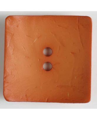 fashion button - Size: 60mm - Color: orange - Art.-Nr.: 410110