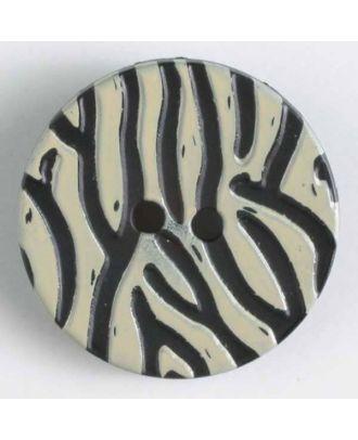 polyamide button - Size: 28mm - Color: beige - Art.-Nr.: 340802