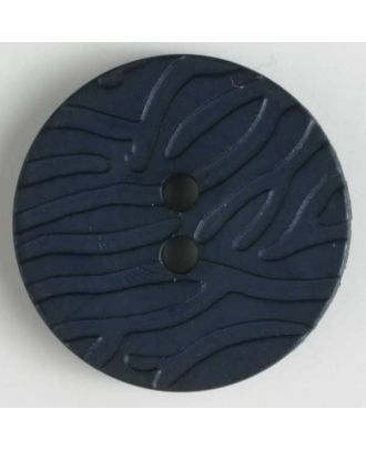 fashion button - Size: 20mm - Color: navy blue - Art.-Nr.: 280897