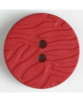 fashion button - Size: 20mm - Color: red - Art.-Nr.: 280898