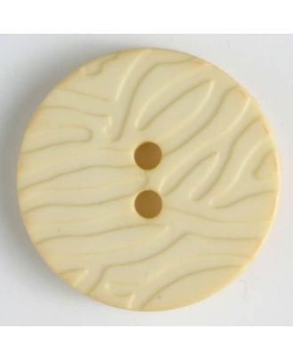 fashion button - Size: 20mm - Color: yellow - Art.-Nr.: 284502