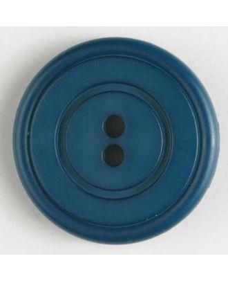 fashion button - Size: 34mm - Color: blue - Art.-Nr.: 370434