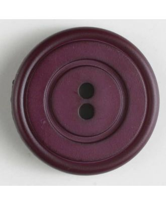 fashion button - Size: 34mm - Color: lilac - Art.-Nr.: 370423