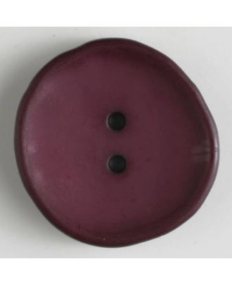 fashion button - Size: 38mm - Color: lilac - Art.-Nr.: 380212