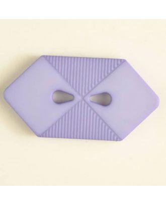 plastic button with 2 holes - Size: 38mm - Color: lilac - Art.No. 376509