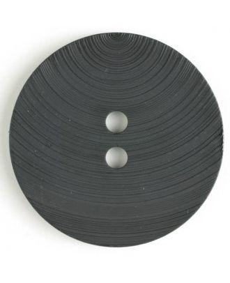 plastic button with 2 holes - Size: 54mm - Color: black - Art.No. 450084