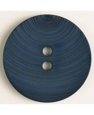 fashion button - Size: 54mm - Color: blue - Art.-Nr.: 450126