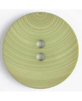 plastic button with 2 holes - Size: 54mm - Color: green - Art.No. 450088