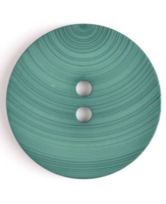 plastic button with 2 holes - Size: 54mm - Color: green - Art.No. 450089