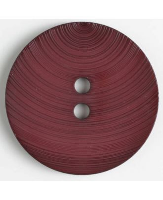 fashion button - Size: 54mm - Color: wine red - Art.-Nr.: 450128