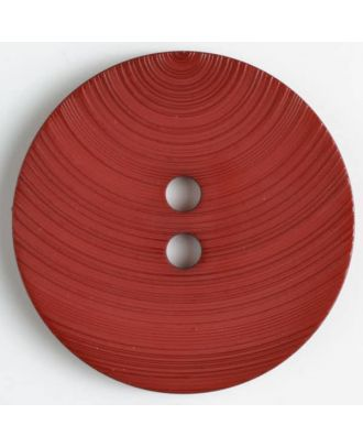 fashion button - Size: 54mm - Color: wine red - Art.-Nr.: 450129