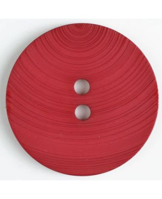 plastic button with 2 holes - Size: 54mm - Color: red - Art.No. 450090