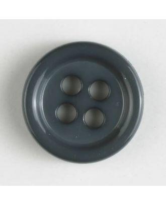 fashion button - Size: 9mm - Color: grey - Art.-Nr.: 170515