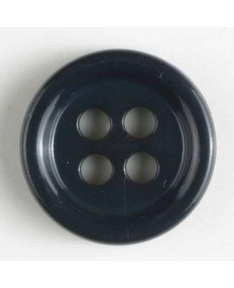 fashion button - Size: 11mm - Color: navy blue - Art.-Nr.: 181275