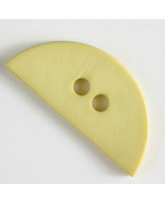 plastic button, half round - Size: 55mm - Color: green - Art.No. 420062