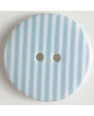 fashion button - Size: 34mm - Color: blue - Art.-Nr.: 370468