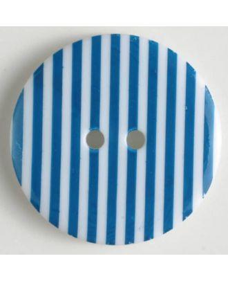 fashion button - Size: 20mm - Color: blue - Art.-Nr.: 310663