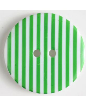 fashion button - Size: 34mm - Color: green - Art.-Nr.: 370470