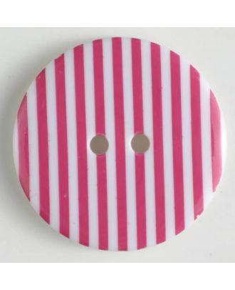 fashion button - Size: 20mm - Color: pink - Art.-Nr.: 310665