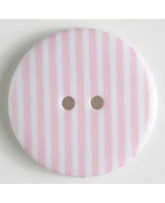 fashion button - Size: 20mm - Color: pink - Art.-Nr.: 310666