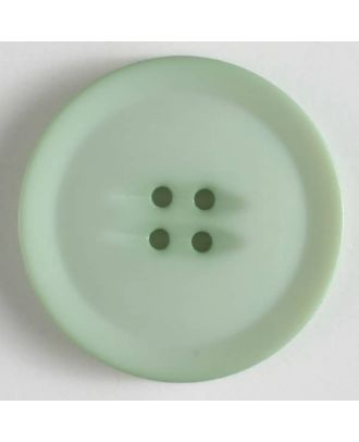 plastic button with 4 holes - Size: 38mm - Color: green - Art.No. 372609