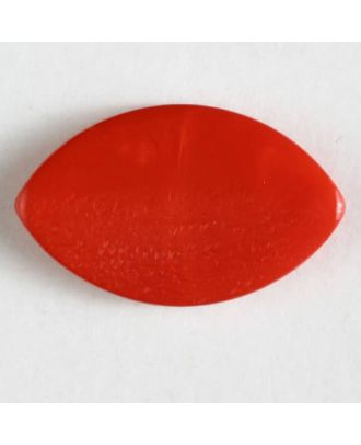 plastic button with shank - Size: 34mm - Color: red - Art.No. 370502