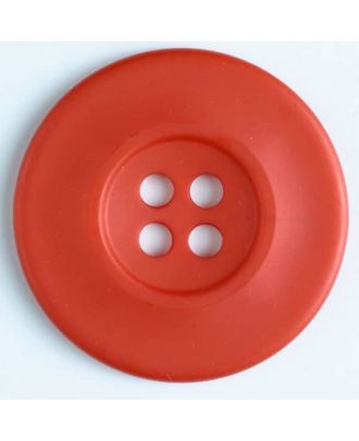fashion button - Size: 55mm - Color: red - Art.-Nr.: 450139