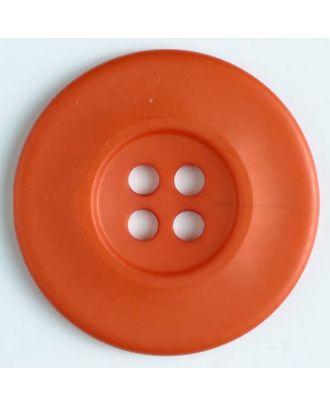 fashion button - Size: 55mm - Color: orange - Art.-Nr.: 450140