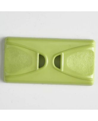 plastic button with 2 holes - Size: 45mm - Color: green - Art.No. 400146