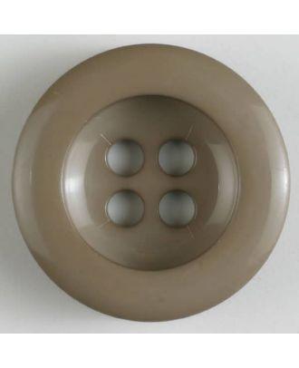 polyamide button 4 holes - Size: 28mm - Color: beige - Art.No. 345620