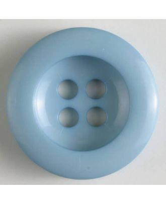polyamide button 4 holes - Size: 28mm - Color: blue - Art.No. 345622