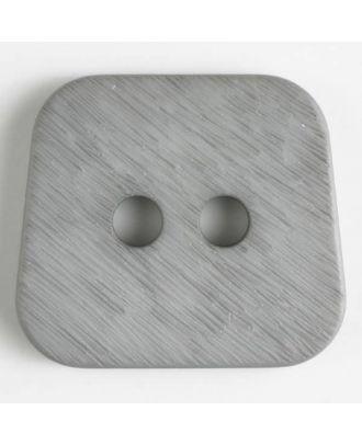 polyamide button 2 holes - Size: 23mm - Color: grey - Art.No. 316628