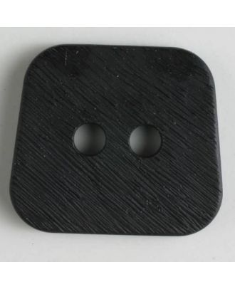 polyamide button 2 holes - Size: 30mm - Color: black - Art.No. 341033