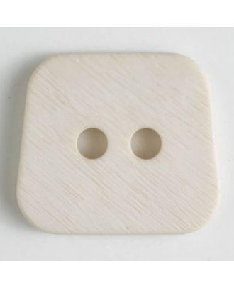 polyamide button 2 holes - Size: 23mm - Color: beige - Art.No. 316629