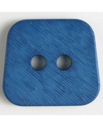 polyamide button 2 holes - Size: 30mm - Color: blue - Art.No. 346631