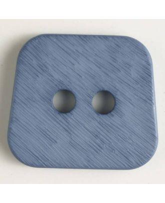 polyamide button 2 holes - Size: 30mm - Color: blue - Art.No. 346632