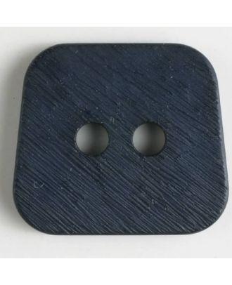 polyamide button 2 holes - Size: 30mm - Color: navy blue - Art.No. 341034
