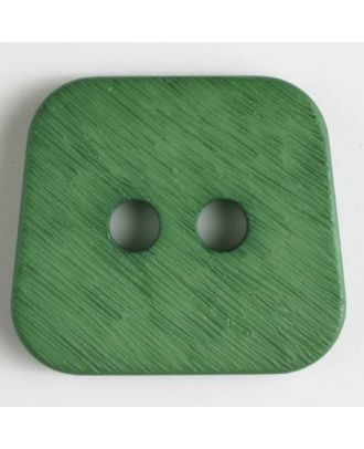 polyamide button 2 holes - Size: 30mm - Color: green - Art.No. 346633