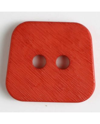 polyamide button 2 holes - Size: 30mm - Color: red - Art.No. 341035