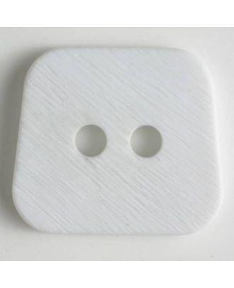 polyamide button 2 holes - Size: 23mm - Color: white - Art.No. 310744