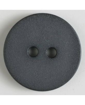 polyamide button with 2 holes - Size: 20mm - Color: grey - Art.No. 267600
